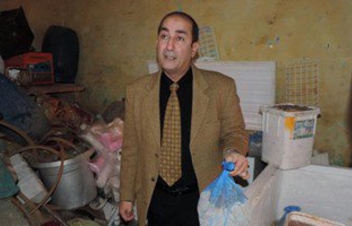 بالصور.. مدير أمن مطروح يشارك فى ضبط معمل آيس كريم غير مرخص