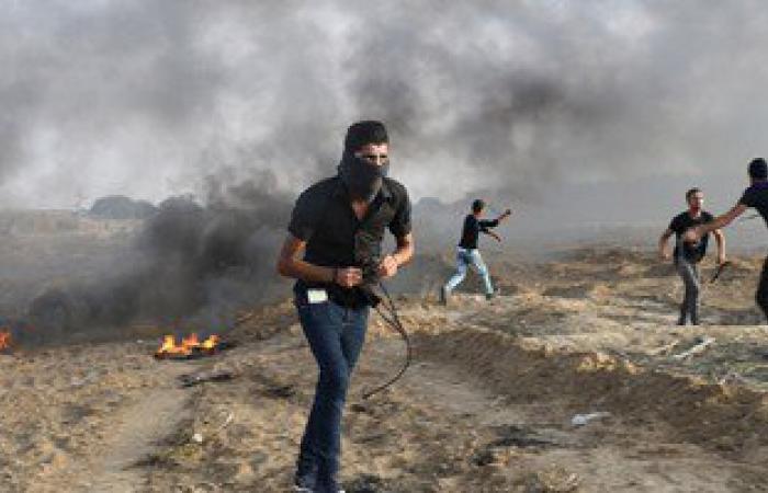 إصابة 4 فلسطينيين برصاص الجيش الاسرائيلى فى قطاع غزة