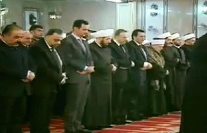 بالصور.. رئيس سوريا يشارك فى إحياء ذكرى المولد النبوى بجامع الأكرم بدمشق