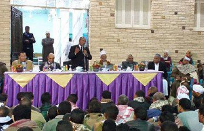 بالصور.. علماء الأزهر ورؤساء المدن يحتفلون بالمولد النبوى فى شرق الأقصر