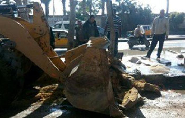 حملات إزالة للمبانى المخالفة والإشغالات بحى الجمرك وشرق بالإسكندرية
