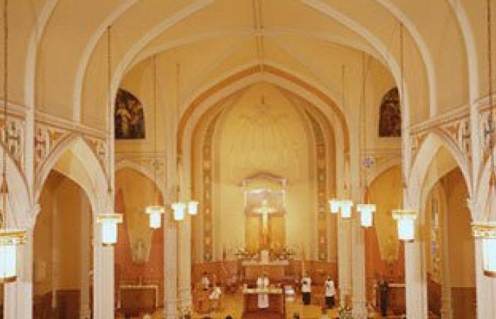 """كنائس """"الكاثوليك"""" فى حماية الأمن أثناء احتفالهم اليوم بـ""""عيد الميلاد"""""""