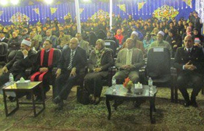 بالصور.. إدارة الأمن المركزى ببورسعيد تحتفل بالمولد النبوى بحضور المحافظ