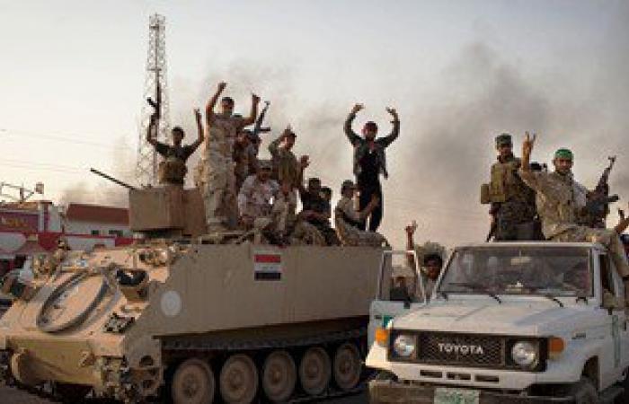 وصول 5 أفواج قتالية للسيطرة على الأراضى المحررة فى الرمادي بالعراق