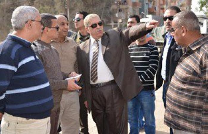 حى غرب شبرا الخيمة يضع خطة لانارة الشوارع الرئيسية بطريق بيجام