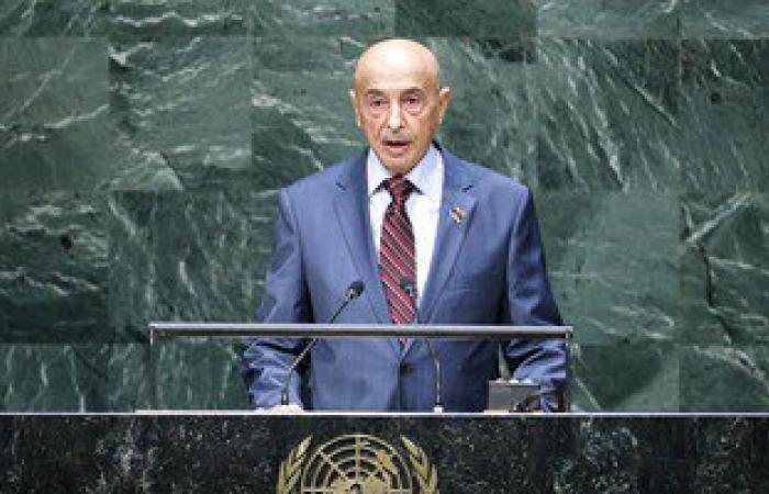 رئيس البرلمان الليبى يهنئ أبناء شعبه بالذكرى الـ 64 لعيد الاستقلال