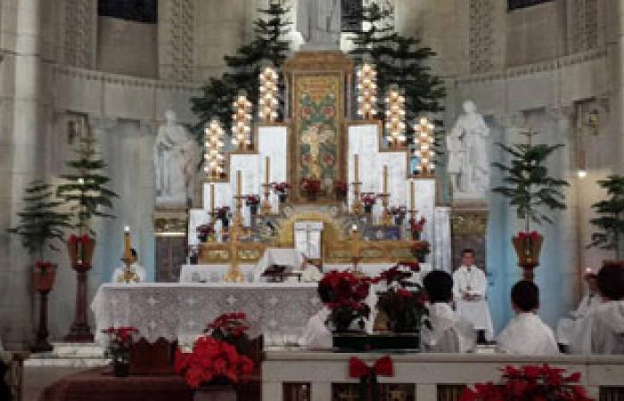 """اليوم.. """"الكاثوليك"""" و""""السريان"""" و""""الأسقفية"""" يحتفلون بعيد الميلاد المجيد"""