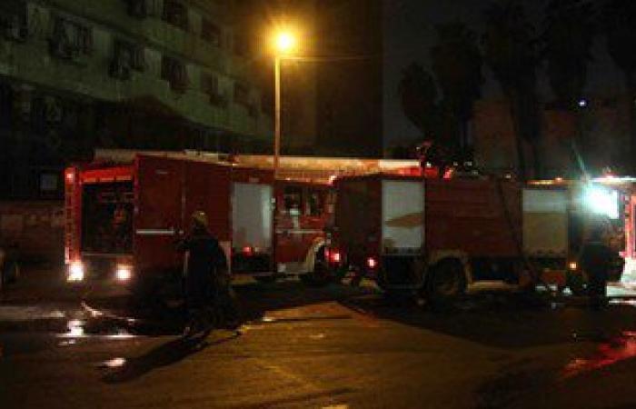 اشتعال النيران بمخزن قطن بحلوان و6سيارات إطفاء تسيطر على الحريق دون اصابات