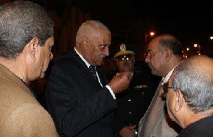 محافظ السويس يفتتح شارع الجلاء بالسويس بحضور مدير الأمن