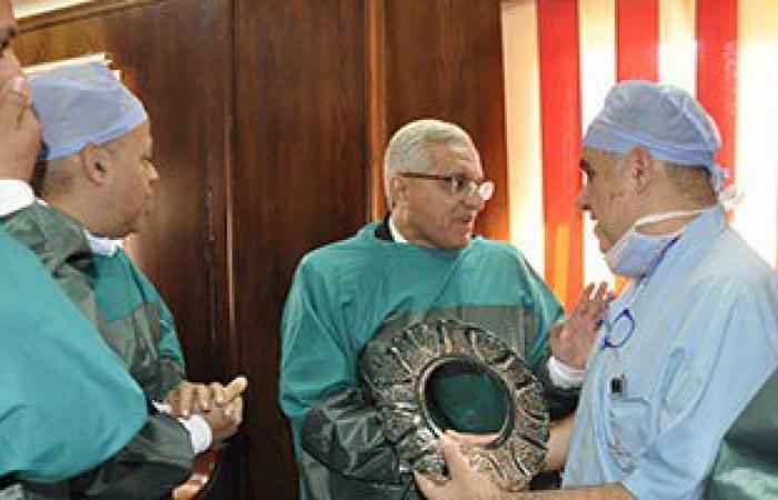 إجراء 6 عمليات زرع قرنية بمستشفى جامعة المنيا مجانًا