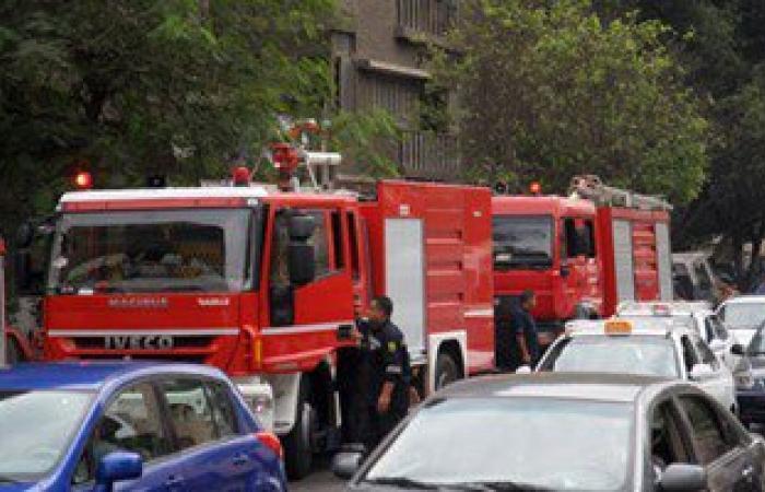 الحماية المدنية تسيطر على حريق بشقة سكنية فى الوراق دون إصابات