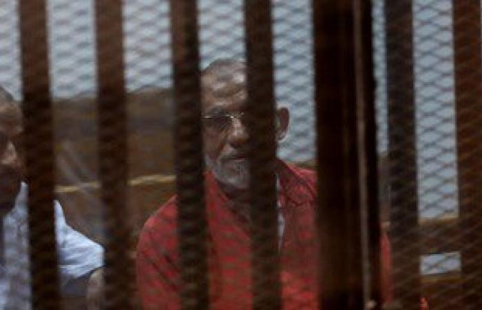 """""""النقض"""" تقضى بإعادة محاكمة بديع والشاطر و11 آخرين بأحداث مكتب الإرشاد"""