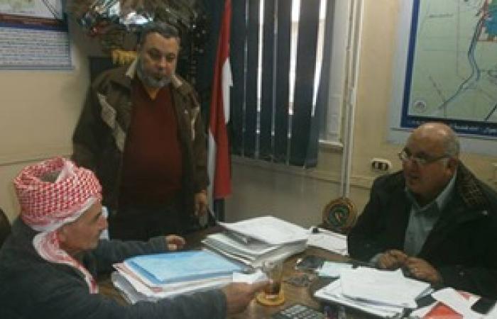 بالصور..رئيس مدينة السنبلاوين يستقبل المواطنين فى اللقاء الأسبوعى بالدقهلية
