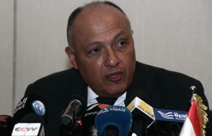 سامح شكرى من الرياض: علاقة مصر والسعودية استراتيجية ومصيرهما مشترك
