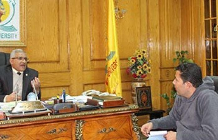 رئيس جامعة المنيا يشيد بزيارة المحافظ: دليلاً على تقديره وتعزيز التعاون