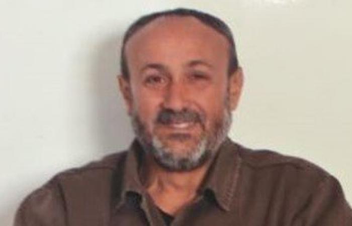 ننشر أحدث صور للقائد الفلسطينى مروان البرغوثى من داخل السجون الإسرائيلية