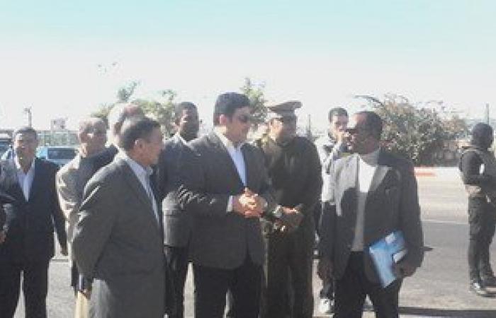 """بالصور.. وزير الرى: وفد مصرى يتوجه لأثيوبيا اليوم لبحث أزمة """"فتحات الطوارئ"""""""