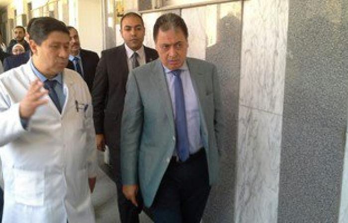 وزير الصحة: افتتاح معهد القلب الجديد بأرض مطار إمبابة مارس المقبل