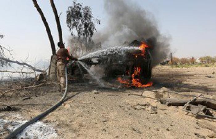 ارتفاع عدد ضحايا عملية تفجير بوابة القصر الرئاسى فى اليمن إلى 11 قتيلا