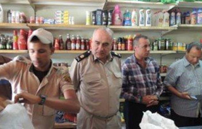 تحرير 13 محضر مخالفات تموينية بإدارة العامرية غرب الاسكندرية