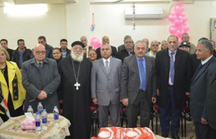 جمعية قبطية تحتفل بأعضاء مجلس النواب عن مدينة طنطا