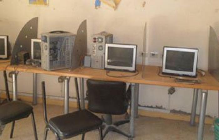 سرقة أجهزة الكمبيوتر من مدرسة صنايع بمدينة أبوحماد فى الشرقية