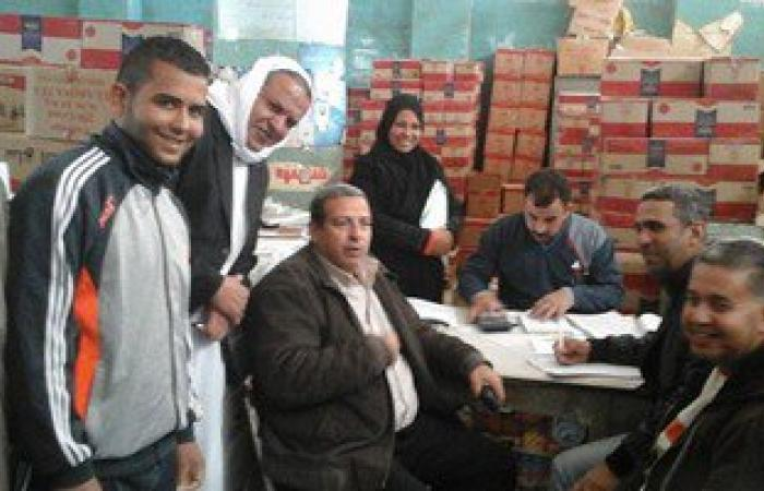 بالصور..تموين جنوب سيناء:جاهزون لصرف المقررات والسلع التموينية لشهر فبراير