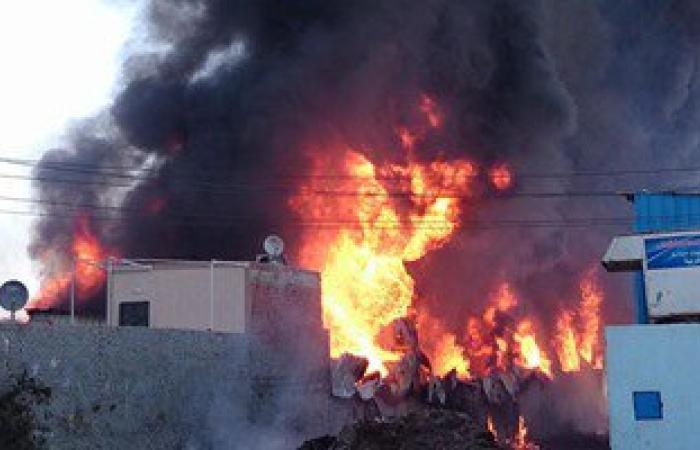 الإسعاف ينقل 7 مصابين نتيجة انفجار أسطوانات بوتاجاز بمنطقة عمر أفندى فى قنا