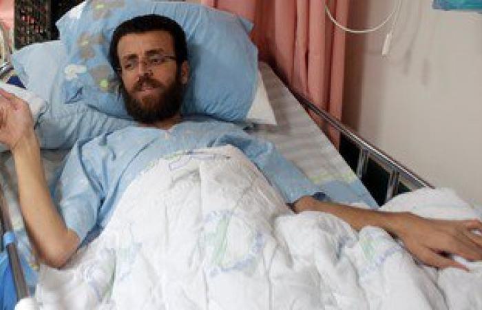 """إسرائيل تقترح نقل الأسير"""" القيق""""المضرب عن الطعام لمستشفى بالقدس الشرقية"""