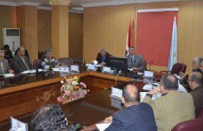 محافظ كفر الشيخ يناقش أعمال تنفيذ مشروعات الخطة الاستثمارية للمحافظة