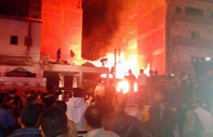 العناية الإلهية تنقذ أهالى قرية ببنى سويف بعد اشتعال النيران بسيارة بوتاجاز