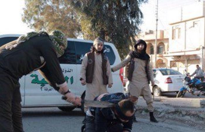 """بالصور..داعش يقطع رقاب 3 أشخاص بتهمة """"سب الله"""" فى العراق"""