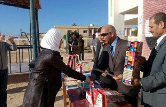 بالصور.. رئيس مدينة رأس سدر يكرم إدارة مدرسة السادات لحصولها على الجودة