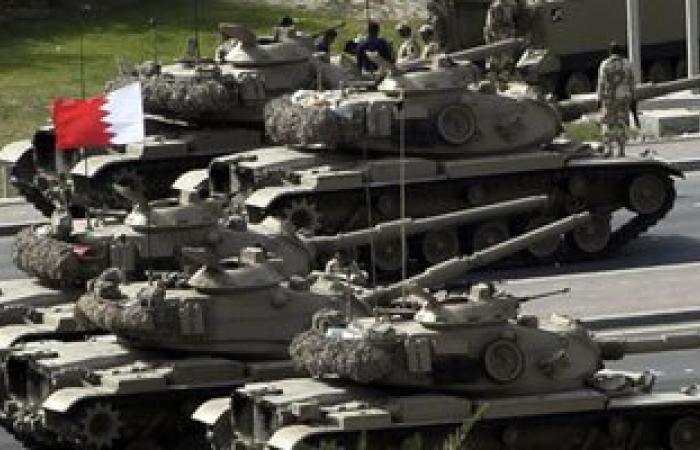 قوات بحرينية تتوجه إلى السعودية للمشاركة فى مناورة رعد الشمال العسكرية