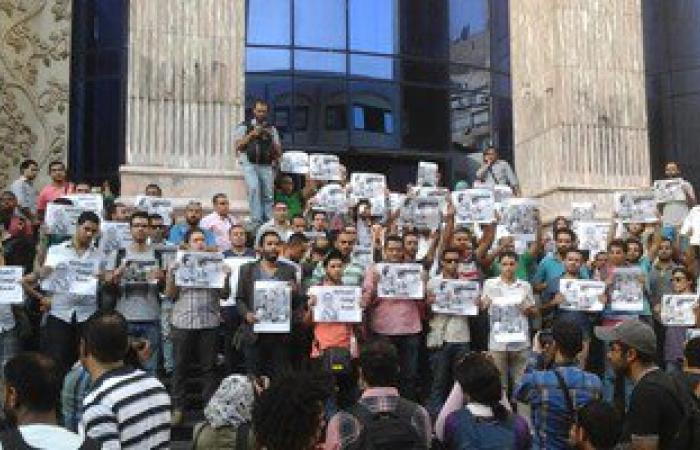 وقفة أمام نقابة الصحفيين للتنديد بتطاول تيمور السبكى على نساء الصعيد