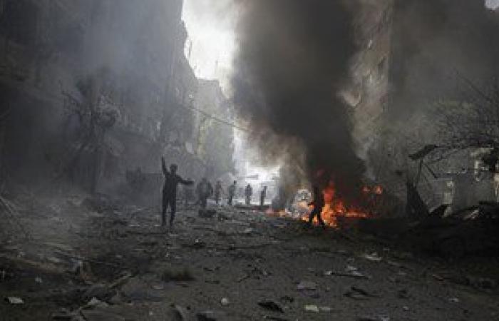 مقتل 15 مدنيا فى غارة للتحالف الدولى على بلدة بشمال شرق سوريا