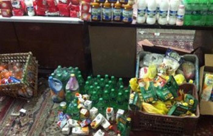 ضبط 2 طن سلع غذائية مجهولة المصدر بداخل مخزن بالقاهرة