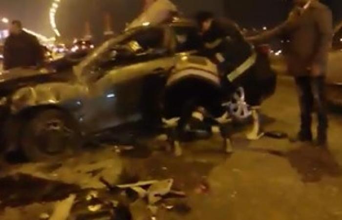 مصرع شخص وإصابة شقيقه فى حادث تصادم على طريق الراشدة القصر بالداخلة