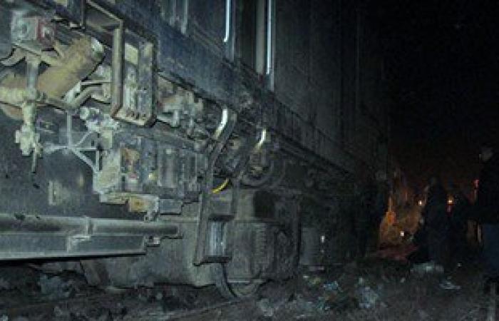 """فنيو""""السكة الحديد"""": سقوط عجلة الجرار وراء توقف قطار الحاويات بميناء بورسعيد"""