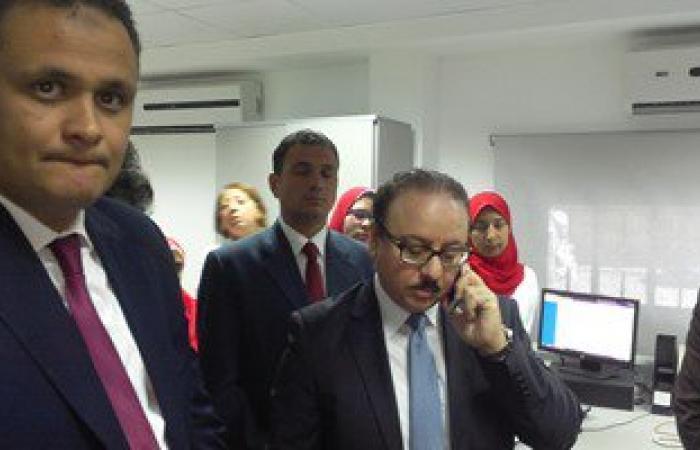 وزير الاتصالات يفتتح سنترال سموحة بسعة 62000 خط بالإسكندرية
