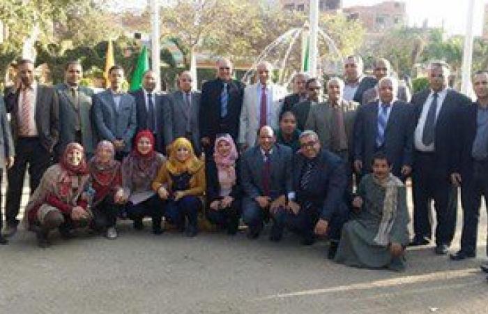 فريق لجنة الجودة ينهى زيارته لكلية زراعة جامعة بنها بمشتهر