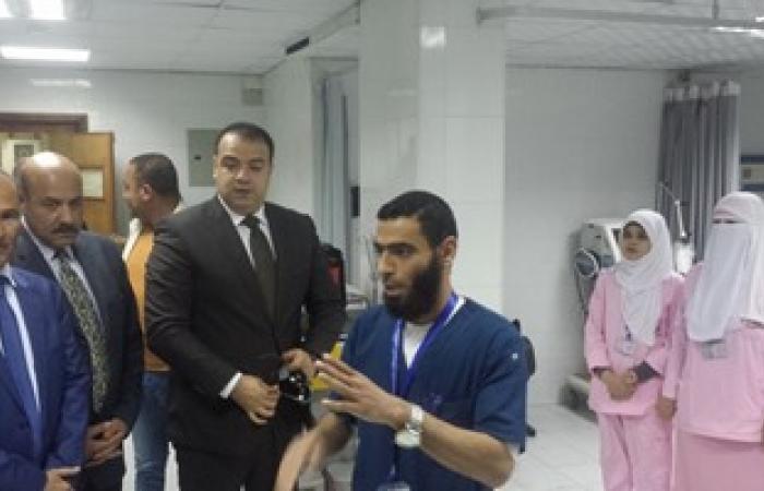محافظ الفيوم يفتتح مستشفى السلام التخصصى
