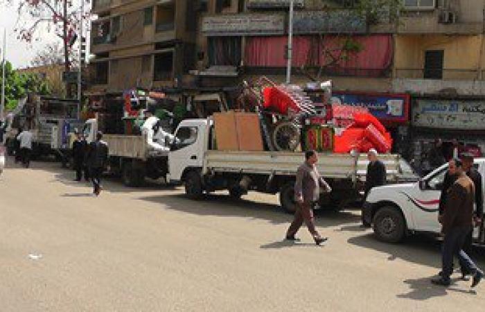 بالصور.. مدير أمن القاهرة يقود حملة مكبرة لإزالة إشغالات وتعديات بالعاصمة