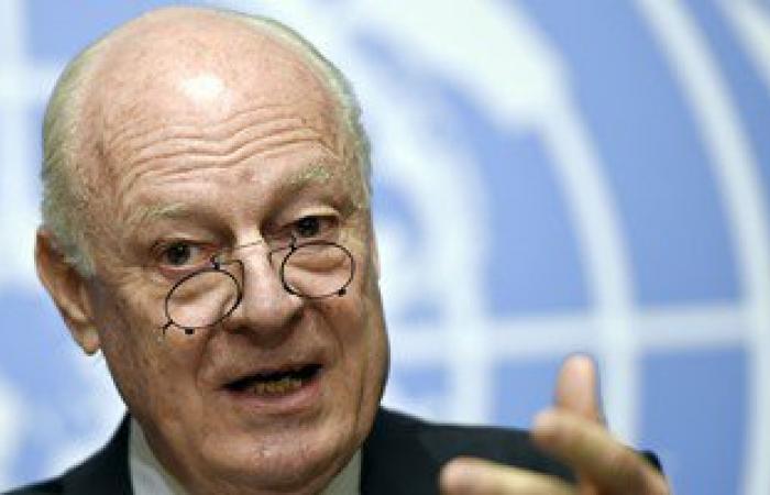 دى ميستورا: الوضع فى سوريا يتحسن ويجب مواصلة إيصال المساعدات الإغاثية