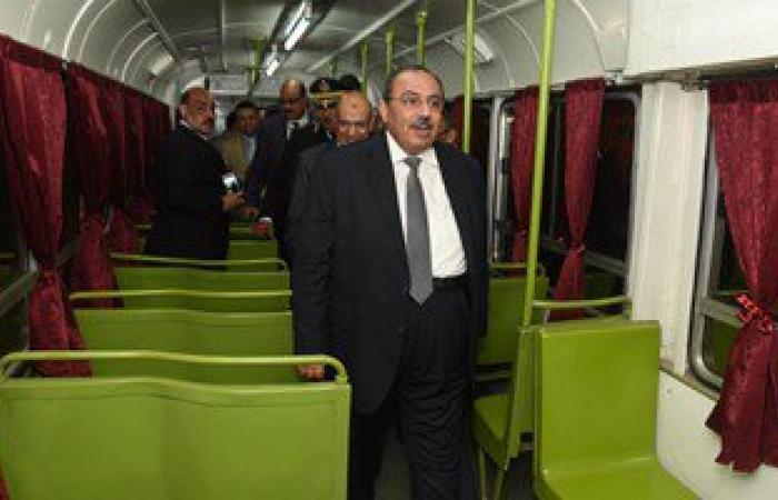 بالصور.. محافظ الإسكندرية يتفقد أعمال رفع كفاءة سيارات هيئة النقل العام