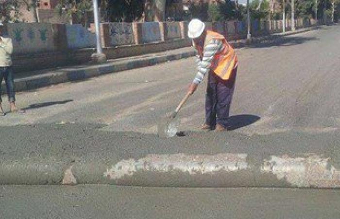 محافظة القاهرة تنتهى من ترميم الحفر بشوارع شبرا والساحل