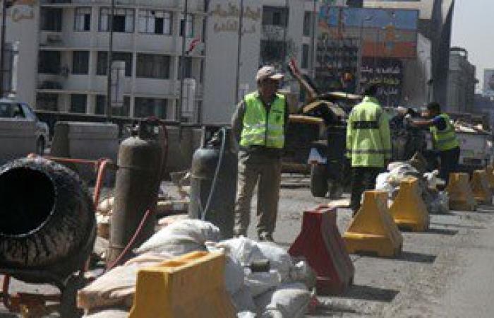 """""""مرور القاهرة"""":بدء أعمال إصلاح فواصل كوبرى أكتوبر وانتشار للخدمات المرورية"""