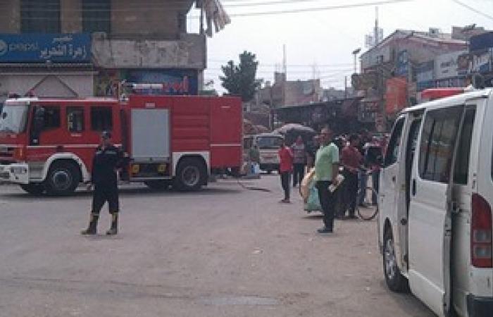4 سيارات إطفاء تسيطر على حريق شقة فى أكتوبر دون إصابات