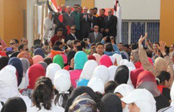"""بالصور.. انطلاق احتفالات العيد القومى لـ""""بنى سويف"""" بحضور نجوم الكرة المصرية"""