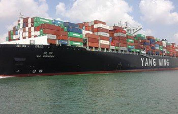2112 ألف طن متوسط يومى لحمولات السفن المارة بقناة السويس خلال يناير الماضى